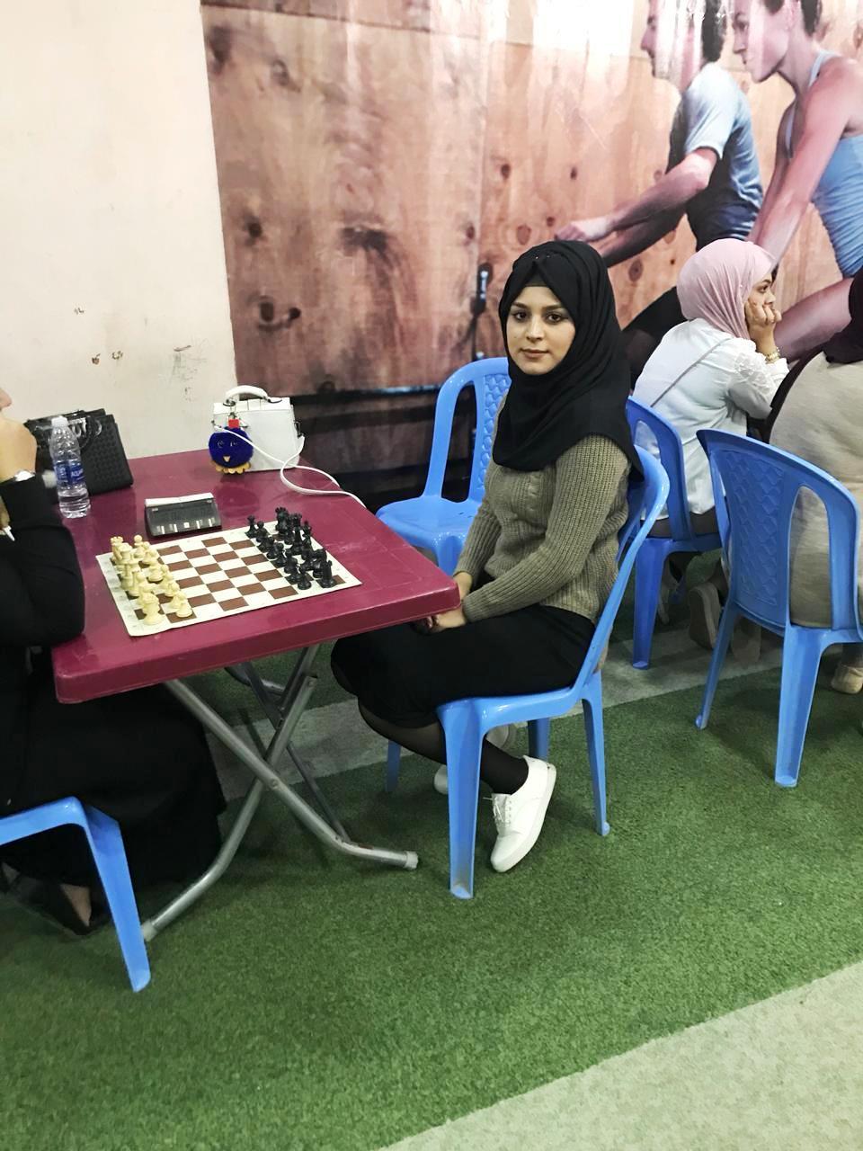 فريق الكلية للطالبات بالشطرنج يحصل على المركز الرابع ببطولة جامعة بغداد
