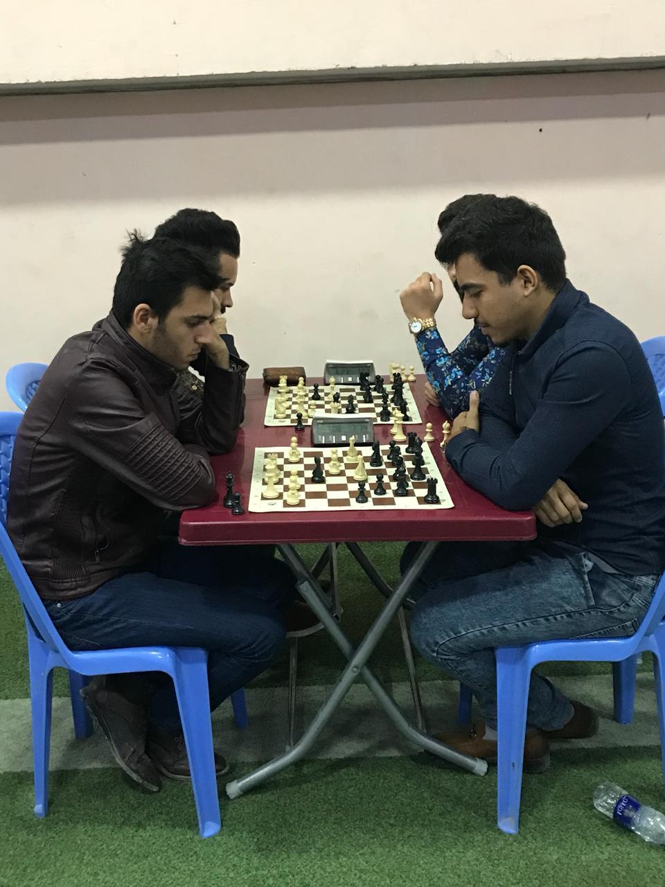كليتنا تشارك في بطولة جامعة بغداد للشطرنج – طلاب